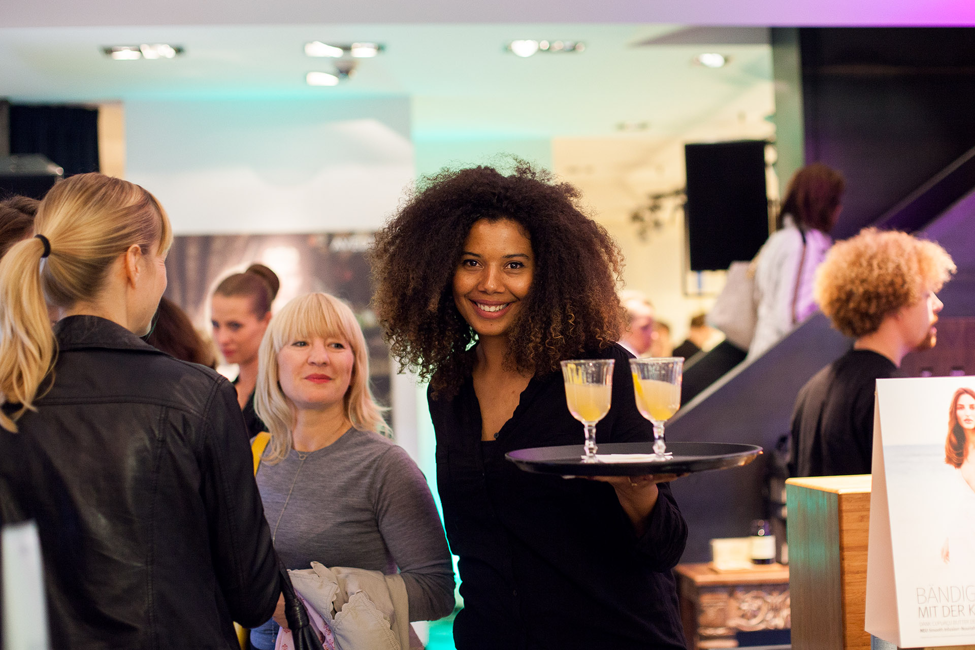 Genussboten Catering - Aveda VOGUE Fashion's Night Out
